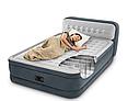 Надувная двуспальная кровать со спинкой Intex 64448 152х236х86см, фото 8