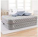 Надувная двуспальная кровать с насосом Intex 64490 152х203х51см, фото 3