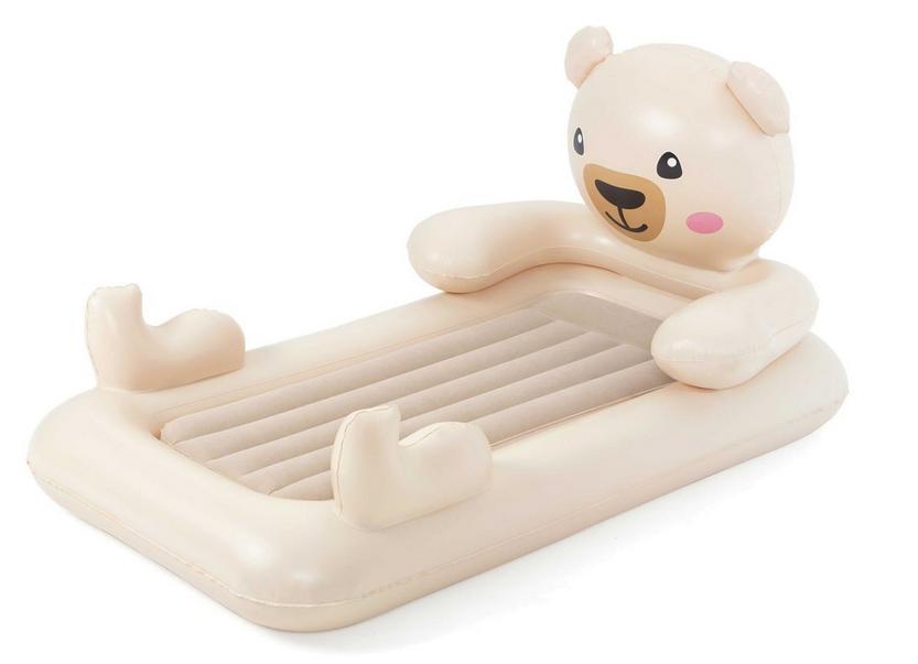 Надувна односпальне ліжко Bestway 67712 ведмедик Teddy 188х109х89 см
