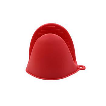 Кухонная прихватка Cumenss AI-K001 Red силиконовая рукавица для кастрюль духовки горячего