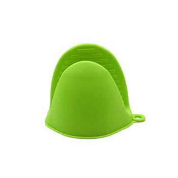Кухонная прихватка Cumenss AI-K001 Green силиконовая рукавица для кастрюль духовки горячего
