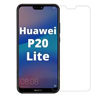 Защитное стекло для Huawei P20 Lite прозрачное (хуавей п20 лайт)