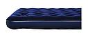 Надувной матрас двухместный Bestway 67226 синий с подголовником и встроенным насосом 203х152х22 см, фото 5