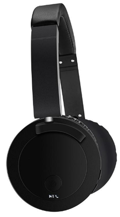 Портативные Bluetooth наушники Recci Morzart series REH-A01 Черные, фото 2