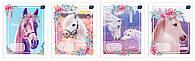 Набор тетрадей ученических I love my pony 8 шт по 2 каждого дизайна А5+ 12#, Interdruk Premium
