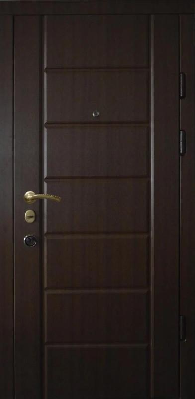 Двери квартирные,Prestige, модель 20-41, 2 замка, рама 110мм