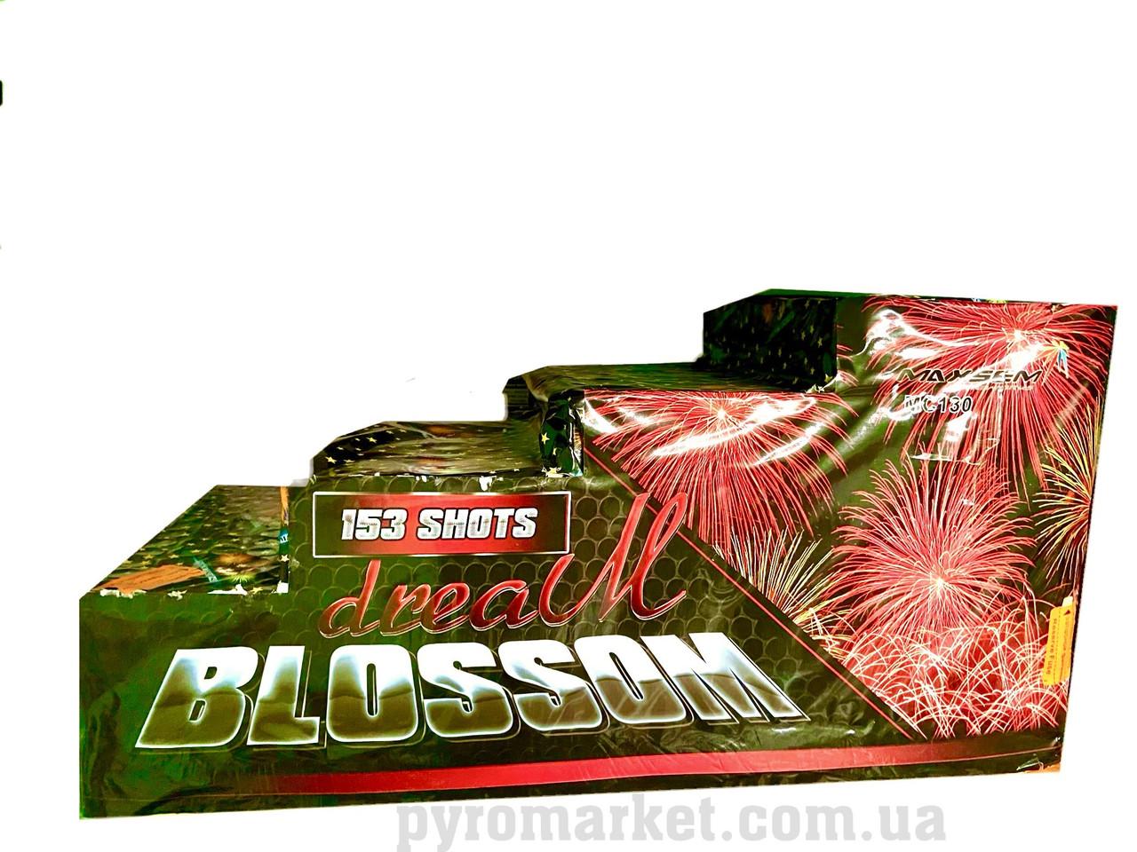 Салют Dream Blossom Maxsem MC130, 153 выстрелов 20-63 мм