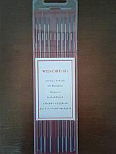 Вольфрамовий електрод WT20 (ЕОТ-15) Ø2.0 мм