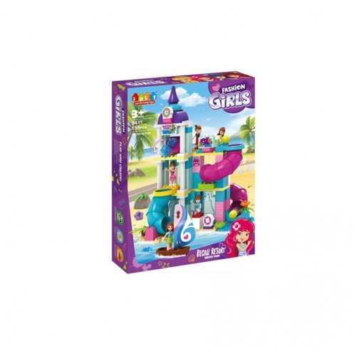 "Конструктор дитячий JDLT 5411 аналог Lego Duplo ""Стильний аквапарк"" 155 деталей"