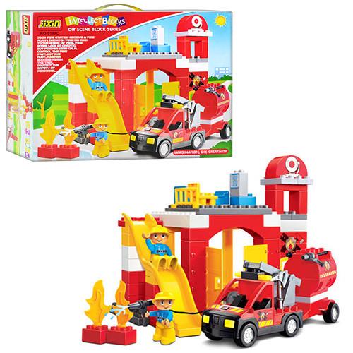 Конструктор JIXIN 9188 C Пожарная станция
