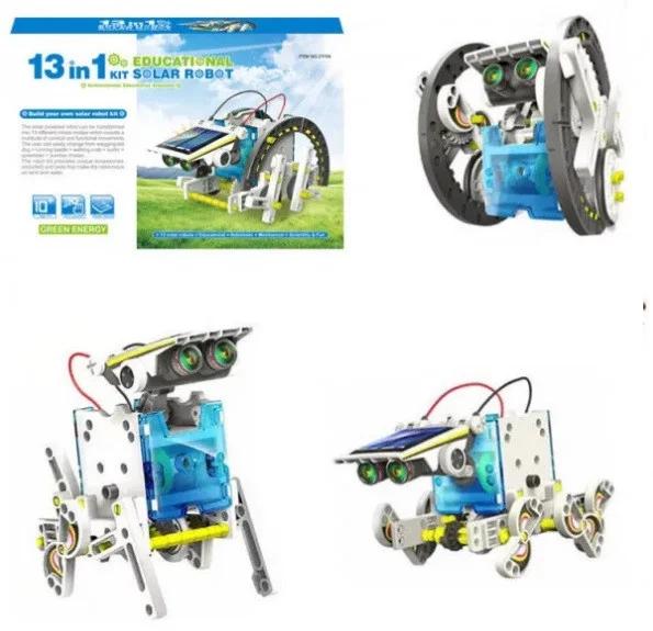 Конструктор робот машина 13 в 1 на солнечных батареях 2115A SOLAR ROBOT UTM