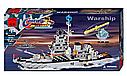 Конструктор BRICK 208885/112 Військовий корабель, 970 деталей, фото 3