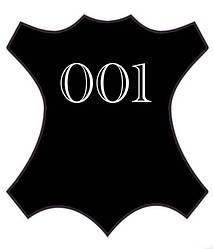 Краска для кожи bsk-color черного цвета 10 мл №001