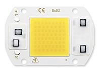 Світлодіод ЛЕД, LED 30Вт 220В - холодний білий