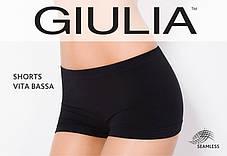 Трусы-шорты с низкой талией, бесшовные, бежевые и чёрные SHORTS VITA BASSA, фото 3