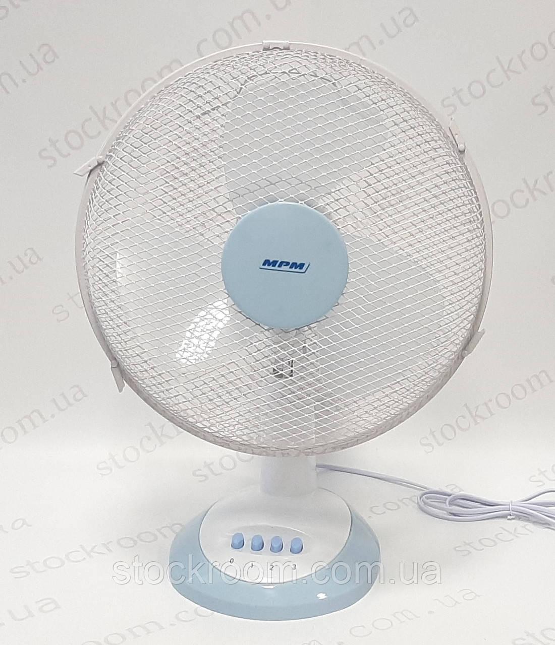 Вентилятор настольный белый MPM