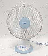 Вентилятор настольный белый MPM, фото 1