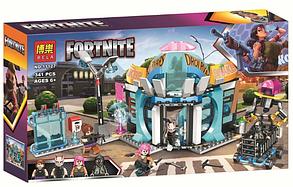 Конструктор Bela Fortnite Стрельба в кафе, 341 деталь (аналог Лего)