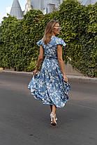Легкое платье на запах, фото 3