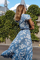 Легкое платье на запах, фото 2