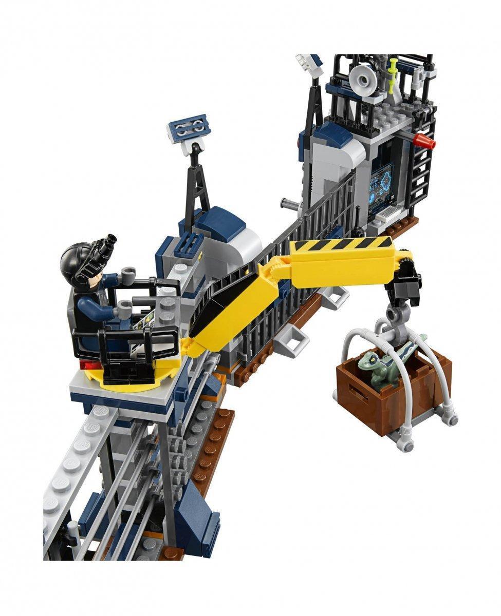 """Конструктор Bela 10923 """"Нападение Дилофозавра на сторожевой пост"""" (аналог Lego Jurassic World 75931)"""