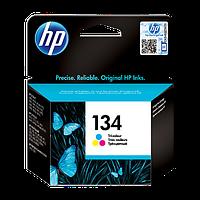 Картридж струйный HP Hewlett Packard C9363HE HP 134 Tri-Color цветной новый оригинальный (многоцветный)