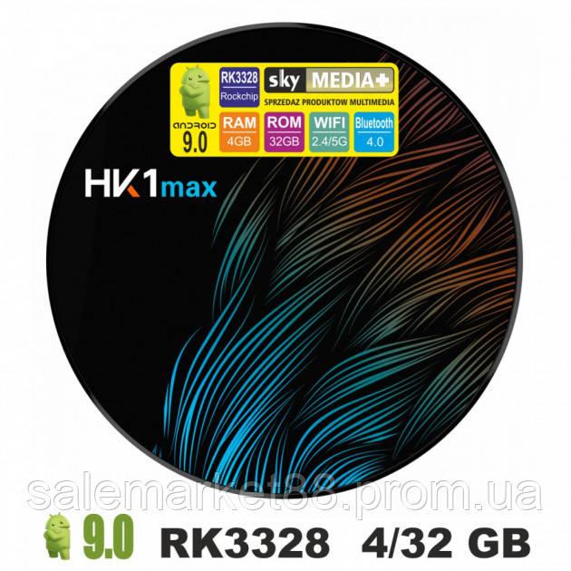 Смарт приставка Smart TV HK1 MAX 4GB/32GB Android 9.0