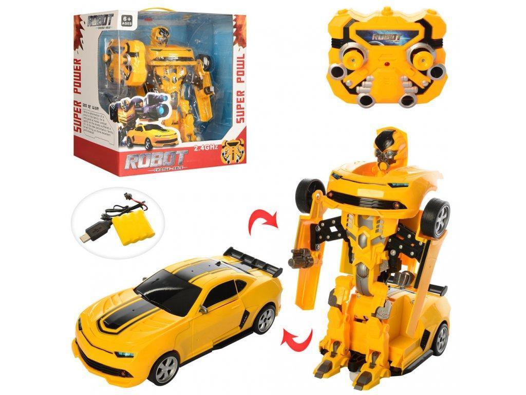 Робот трансформер 8501 (Машина + Робот) Бамблби + Шевролет Камаро