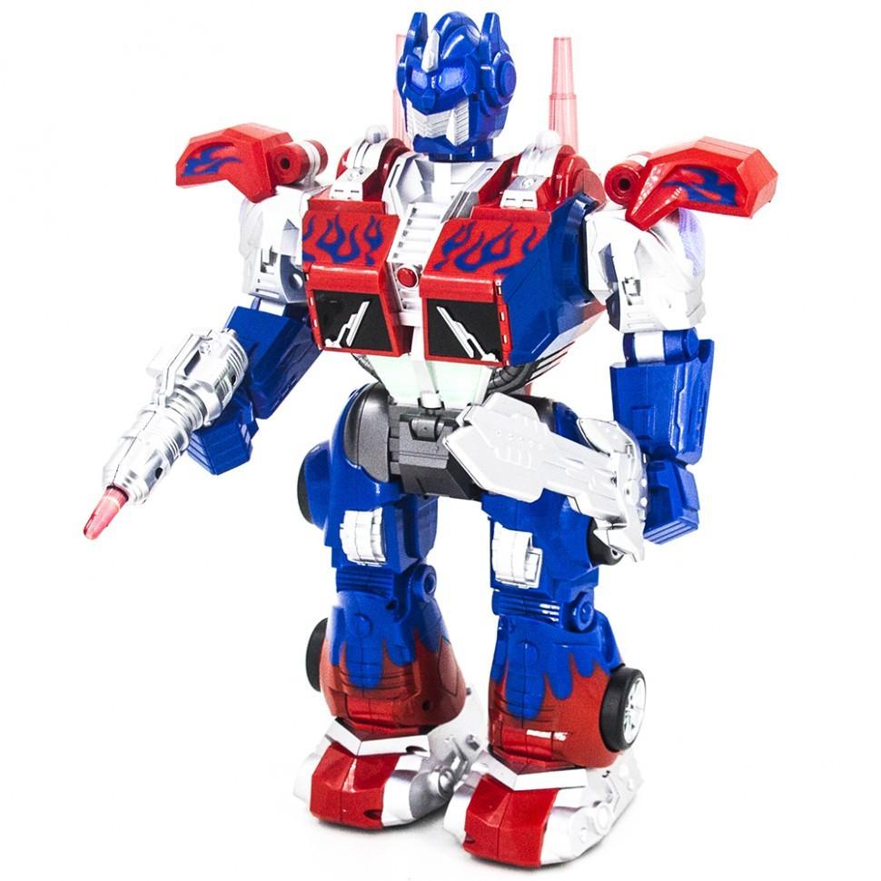 Робот-трансформер 6020 Оптимус Прайм ходит, танцует, стреляет дисками