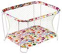 Классический детский игровой манеж Крупная и Мелкая сетка, фото 3