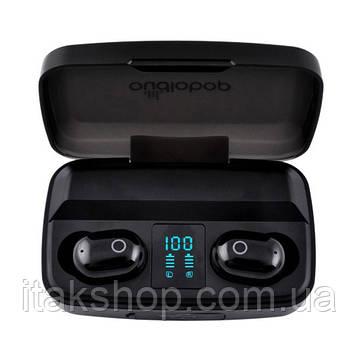 Беспроводные наушники OD-BT011 TWS Bluetooth 5.0 Black, фото 2