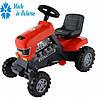 Каталка трактор с педалями Turbo 81х49х66 5см ТМ POLESIE