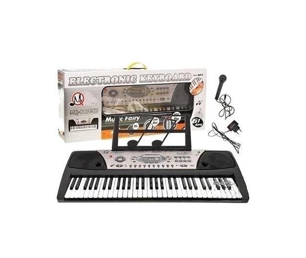 Орган-синтезатор MQ-810 USB от сети,с микрофоном, USB-порт