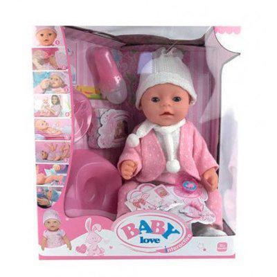 Багатофункціональний, інтерактивний Пупс Baby Love bl-020 З