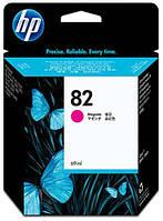 Картридж струйный HP Hewlett Packard C4912a Magenta HP 82 цветной новый оригинальный