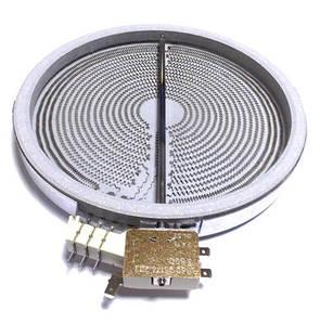 Конфорка для стеклокерамики 3-х зонная 2,3/1,6/0,8 кВт.