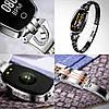 Розумні годинник фітнес браслет Finow H8 з тонометром (Чорний), фото 2