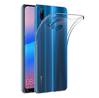 Прозрачный чехол для Huawei P20 Lite силиконовый (хуавей п20 лайт)