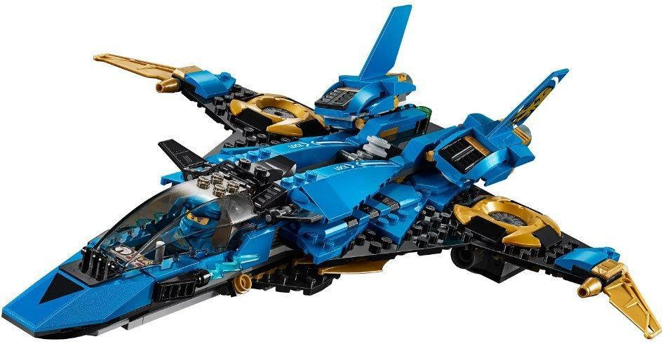 """Конструктор Bela 11162 (Аналог Lego Ninjago 70668) """"Штормовий винищувач Джея"""" з фігурками 524 деталі"""