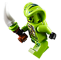 """Конструктор Bela 11162 (Аналог Lego Ninjago 70668) """"Штормовий винищувач Джея"""" з фігурками 524 деталі, фото 8"""