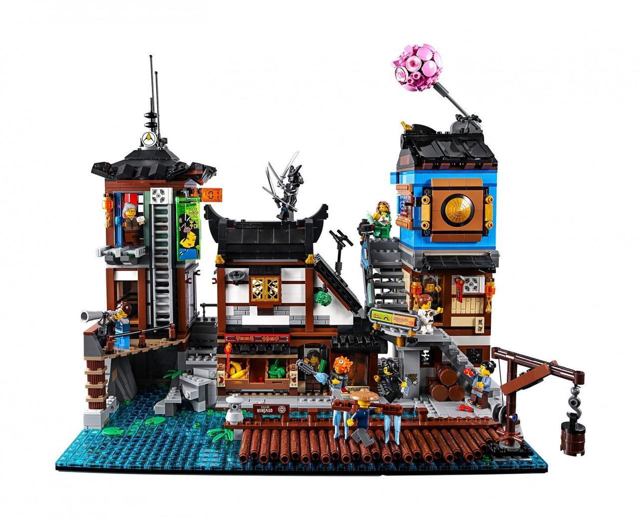 Конструктор Bela Ninja 10941 Порт Ниндзяго Сити 3635 деталей Аналог Lego Ninjago 70657