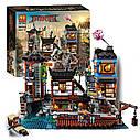 Конструктор Bela Ninja 10941 Порт Ниндзяго Сити 3635 деталей Аналог Lego Ninjago 70657, фото 4
