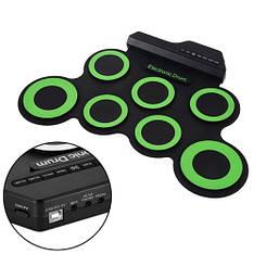 Барабаны электронные USB гибкие, барабанная установка, пэды G3002