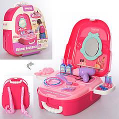 Набор детской декоративной косметики для девочек в виде рюкзака муляж Beauty Set 23в1