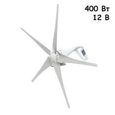 Ветровая электростанция, ветрогенератор с контроллером, 400Вт 12В, SH-400s