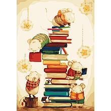 Картина по номерам. «Маленькие читатели» (КНО4111)