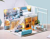 Румбокс миниатюрный сборный дом DIY House Poetic Life