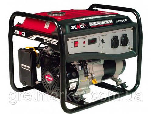 Бензиновий генератор SENCI SC2500M