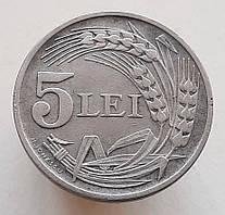 Румыния 5 лей 1942