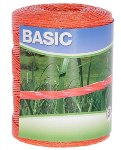 Шнур,бечевка,проводник для электро-изгороди  (BASIC)
